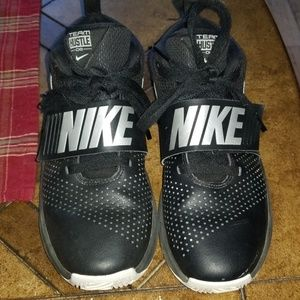 Boys team hustle Nike shoes